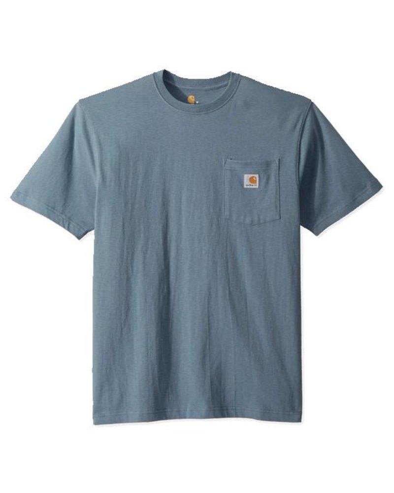 CARHARTT INC. Carhartt Workwear Pocket Tee - Steel Blue