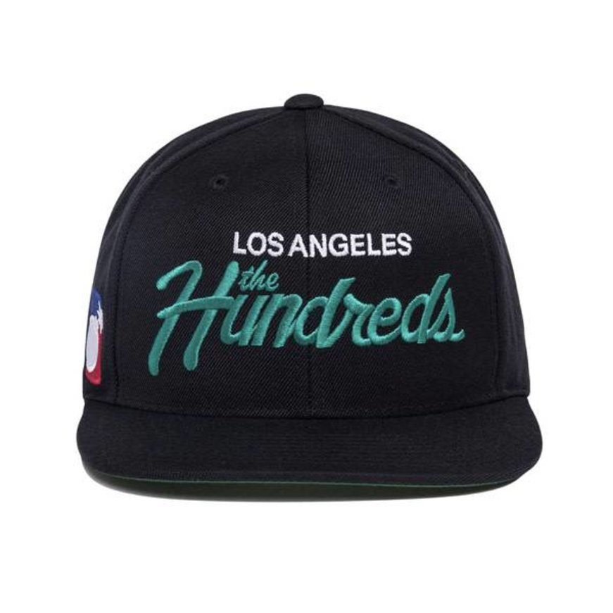The Hundreds - Team Two Snapback Hat (Black) - Identity Boardshop 1e8d00ab5480