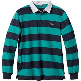 enjoi Late Grab Polo - Turquoise
