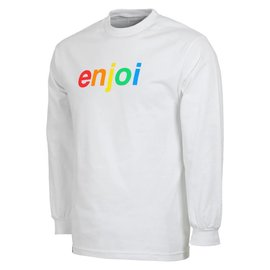 enjoi Enjoi Spectrum Long Sleeve Tee - White