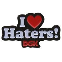 DGK DGK I Love Haters! Pin