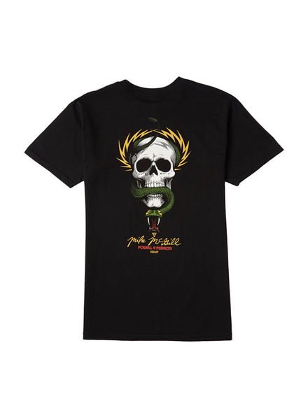 Powell Peralta McGill Skull and Snake Tee - Black