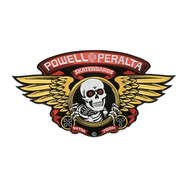 "Powell Peralta Winged Ripper Patch - Large (12"")"