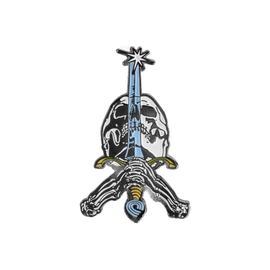 Powell Peralta Skull & Sword Lapel Pin
