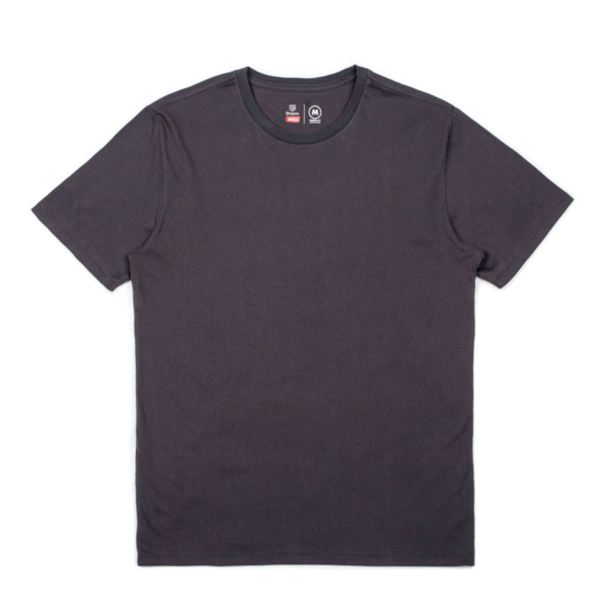 Brixton Brixton Basic Premium Washed Black Tee