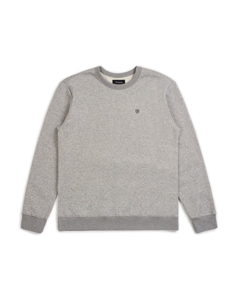 Brixton Brixton B Shield Crew - Heather Grey