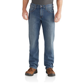 Rugged Flex Relaxed-Fit Straight Leg Jeans