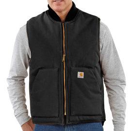 CARHARTT INC. Arctic Quilt-Lined Duck Vest - Black
