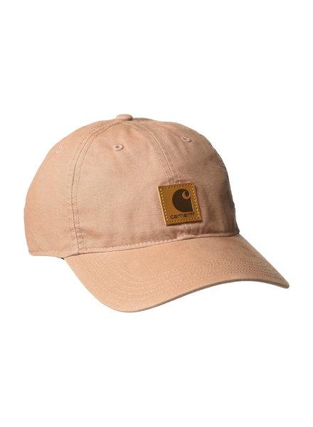 CARHARTT INC. CARHARTT HAT ODESSA CAP COTTON SANDSTONE