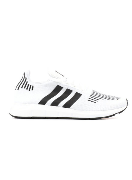 adidas SWIFT RUN WHITE/ CLOUD BLACK