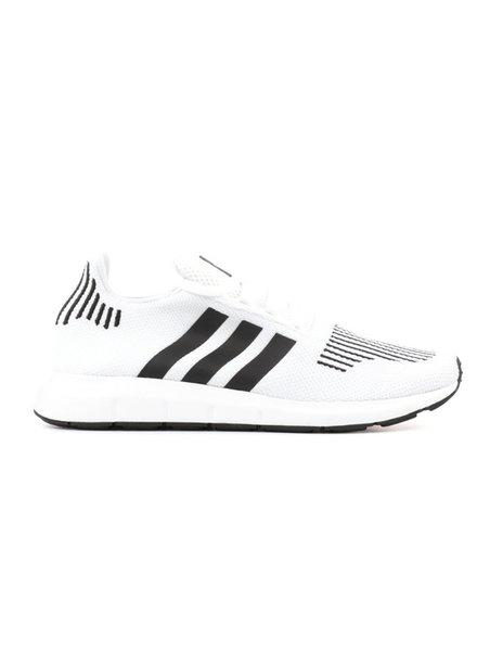 adidas SWIFT RUN WHITE/ CLOUD BLACK