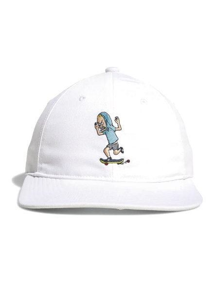 BEAVIS AND BUTT HEAD HAT WHITE