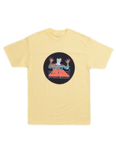 QUASI QUASI T- SHIRT SCAN YELLOW