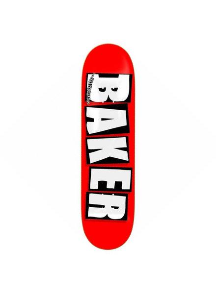 Baker BAKER DECK BRAND LOGO WHITE 8.125