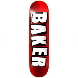 BAKER DECK BRAND LOGO RED FOIL 8.25
