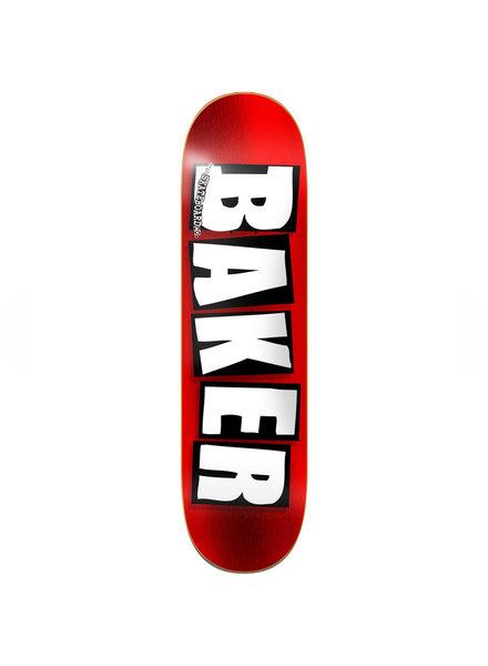 Baker BAKER DECK BRAND LOGO RED FOIL 8.5