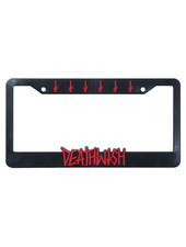Baker Death Spray License Plate Holder