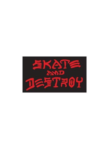 Thrasher Skate and Destroy Medium Sticker