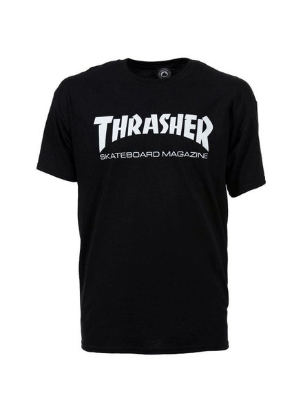 Thrasher Skate Mag Tee - Black