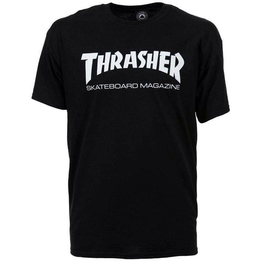 9c5b1caf6ad4 Thrasher - Skate Mag Tee (Black) - Identity Boardshop