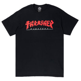 Thrasher Godzilla Tee - Black