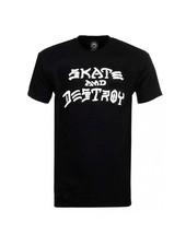 Thrasher Skate & Destroy Tee - Black