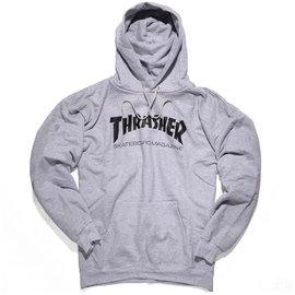 Thrasher Skate Mag Hoodie - Heather Grey