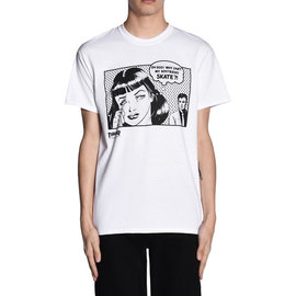 Thrasher New Boyfriend Tee - White