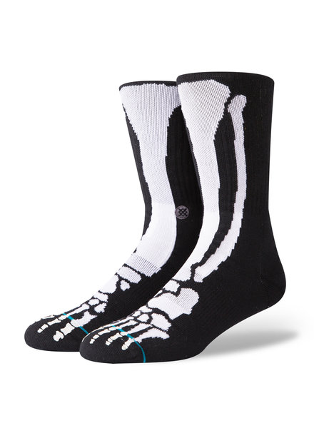 STANCE Bones 2 Socks - Black/White