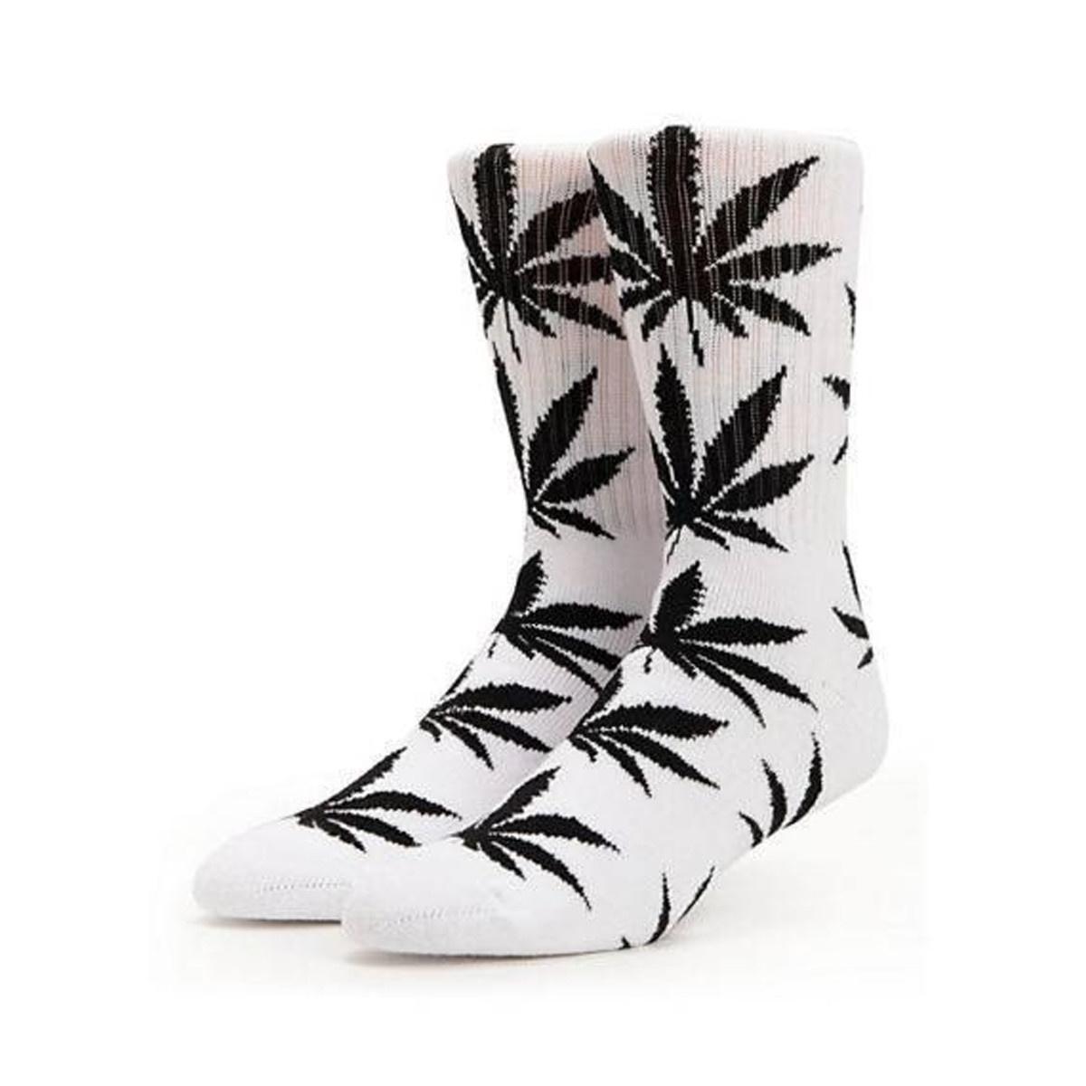 be7f807766eaf HUF - Plantlife Crew Sock (White)