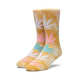 HUF Plantlife Strain Maui Waui Socks - Yellow
