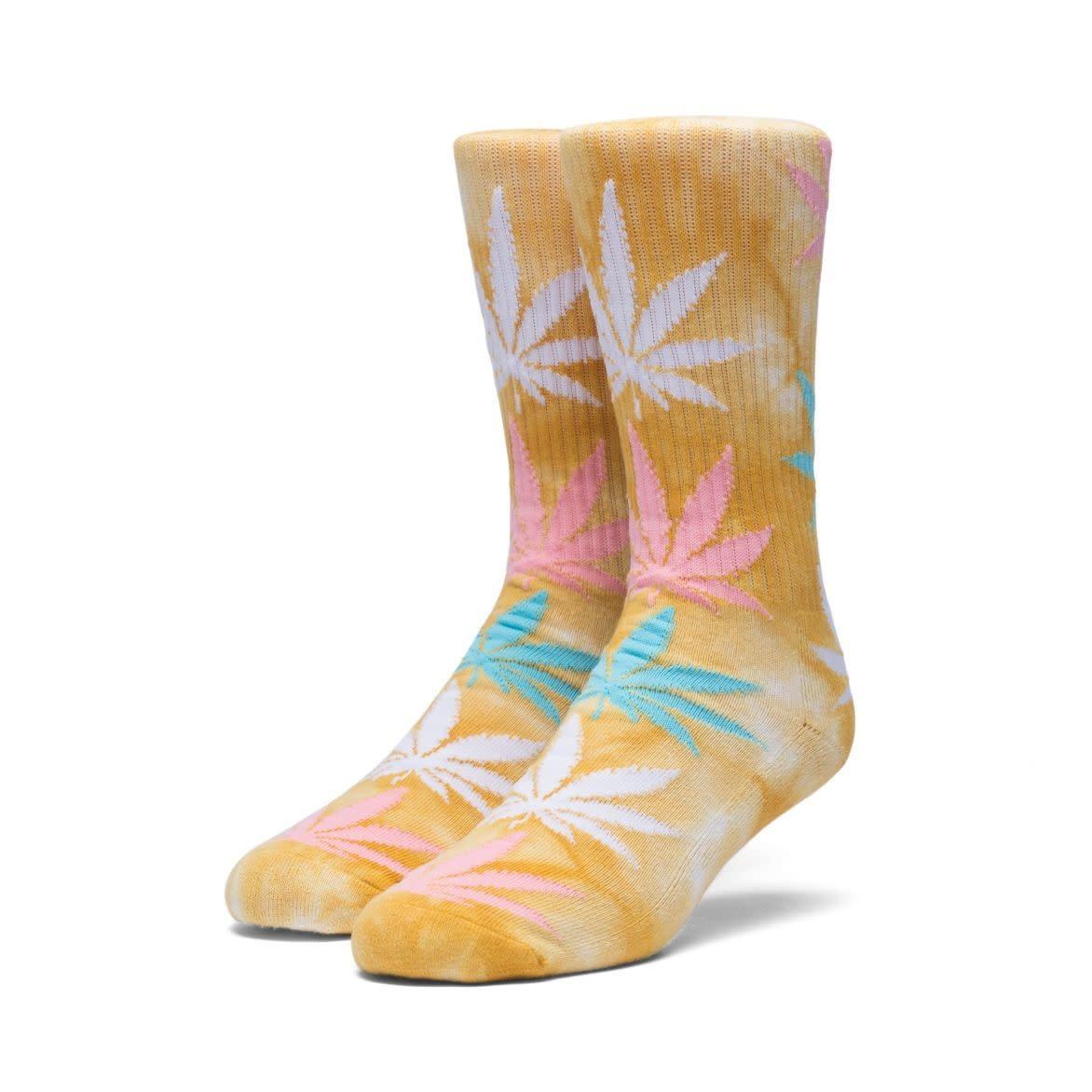b7e73ade97177 HUF - Plantlife Strain Maui Waui Socks (Yellow)