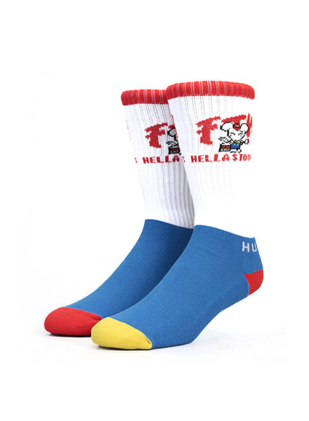HUF FTW Stoops Socks - White