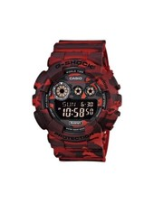 G SHOCK Camouflage Series Watch - Red