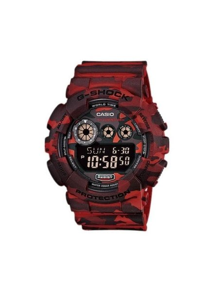 Camouflage Series Watch - Red