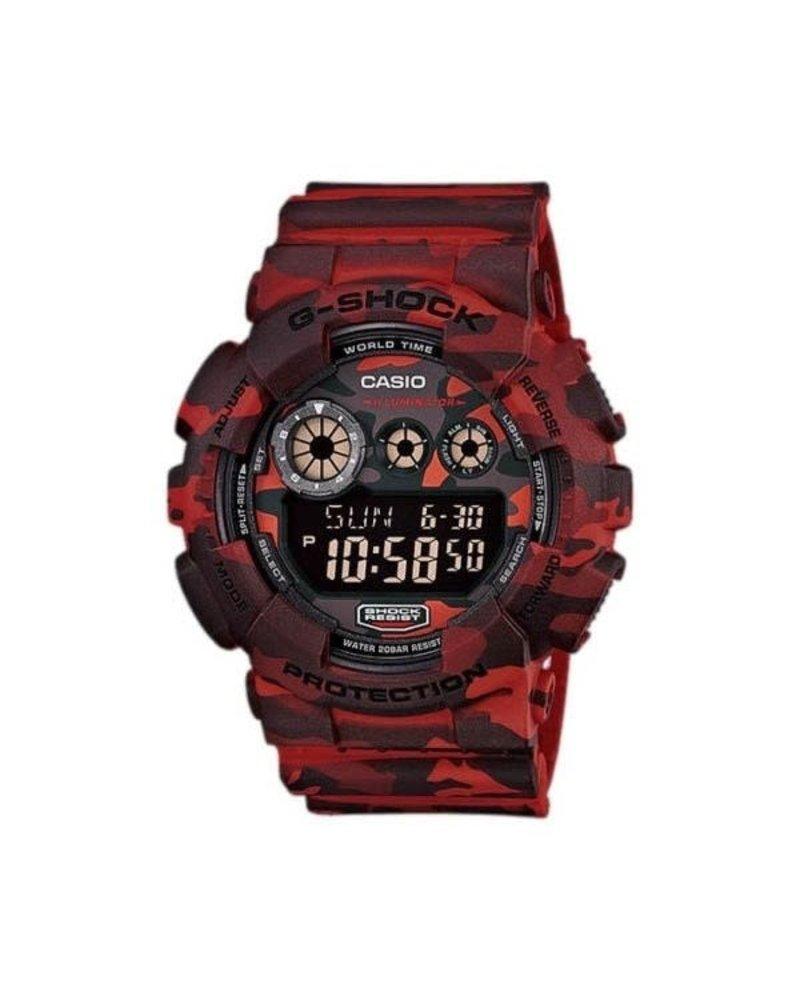 G SHOCK G SHOCK Camouflage Series Watch - Red