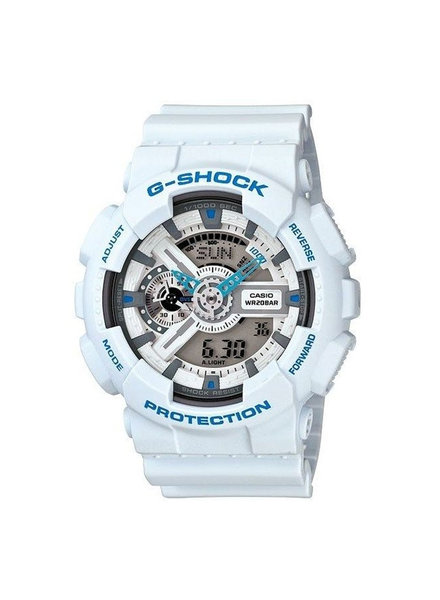 G SHOCK XL Digital Watch - White