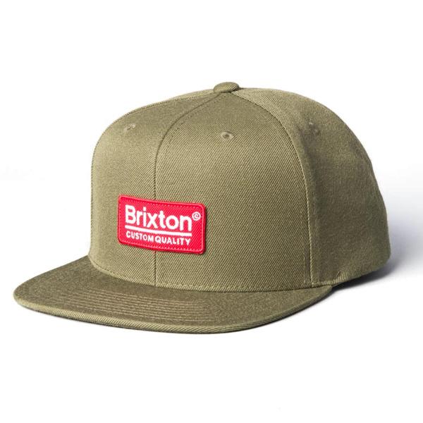 5c929b9b Brixton Palmer II MP Hat - Olive - Identity Boardshop