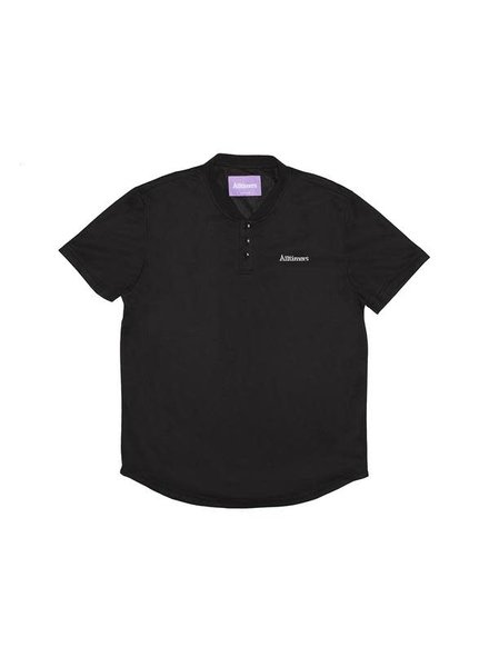 ALLTIMERS Foreign Mesh Polo - Black