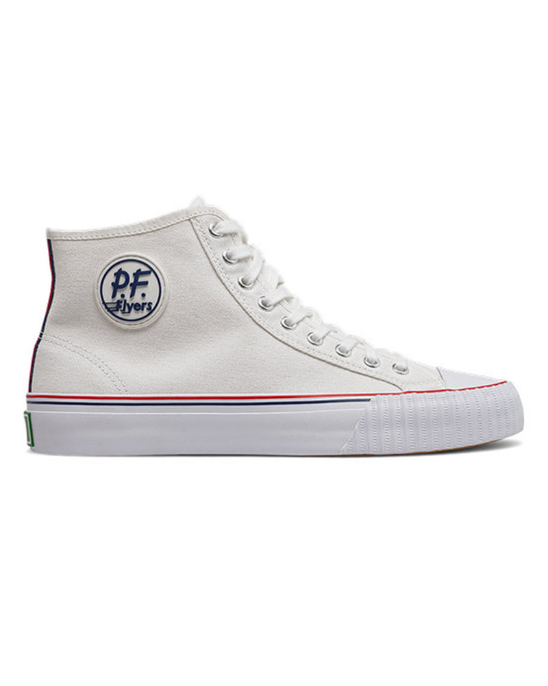 PF Flyers Center Hi - White