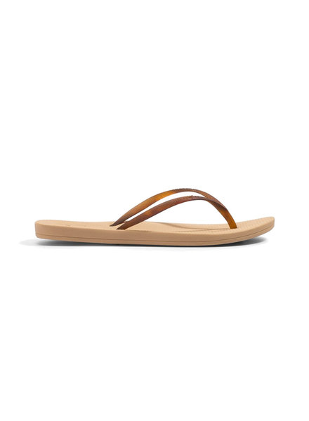 REEF BRAZIL Women's Bounce Slim Cushion Sandal - Nude