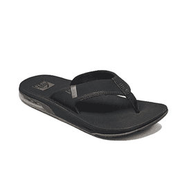 Fanning Low Sandals - Black