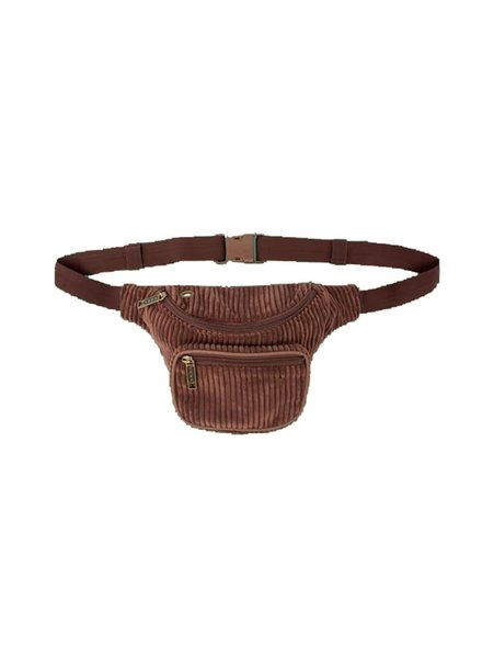 BUMBAG Velma Deluxe Hip Pack Brown
