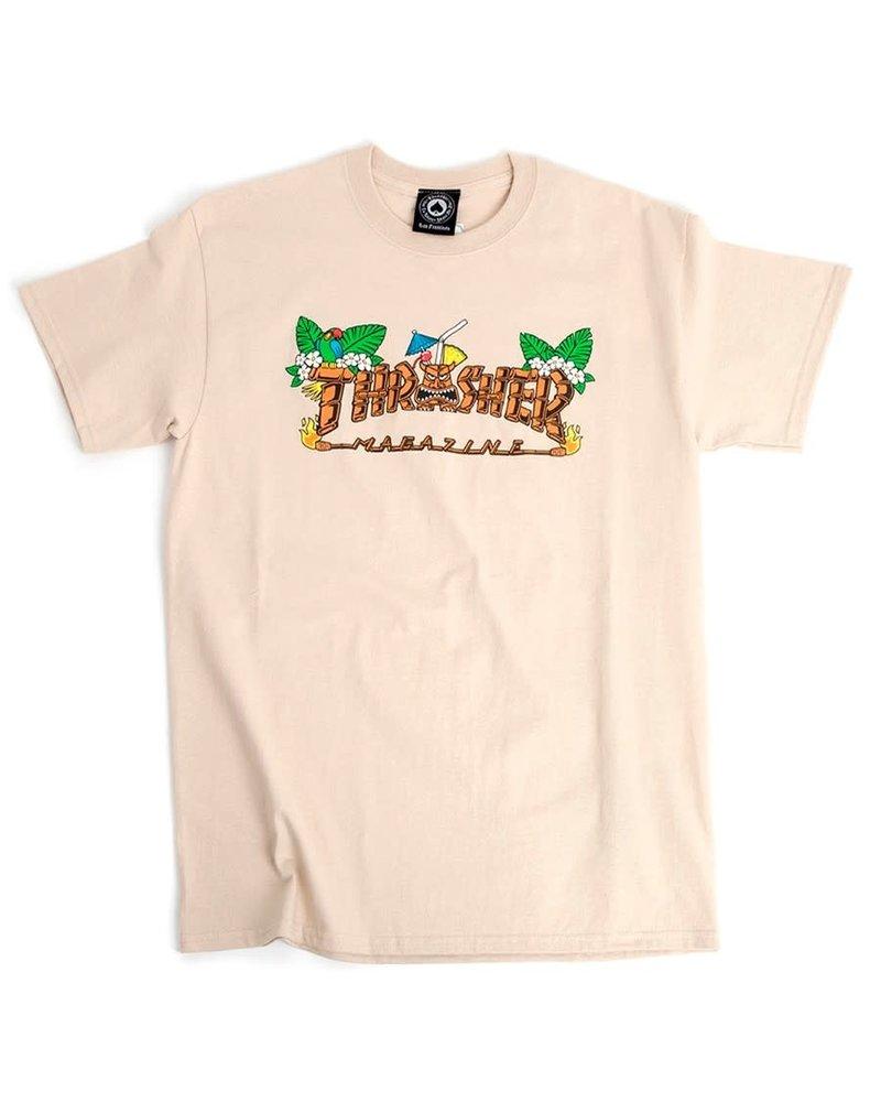 Thrasher Thrasher Tiki Tee - Sand