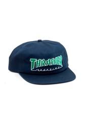 Thrasher THRASHER HAT OUTLINED NAVY