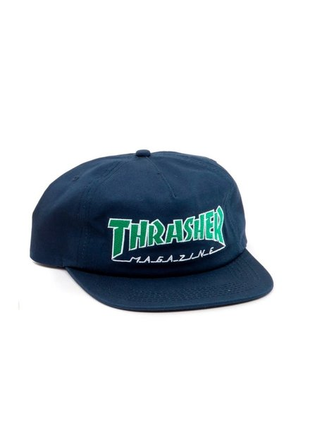 Thrasher THRASHER HAT OUTLINED NAVY