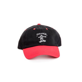 Thrasher Gonz Old Timer Hat - Red/Black