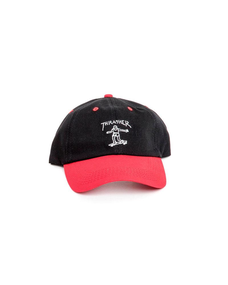 Thrasher Thrasher Gonz Old Timer Hat - Red/Black
