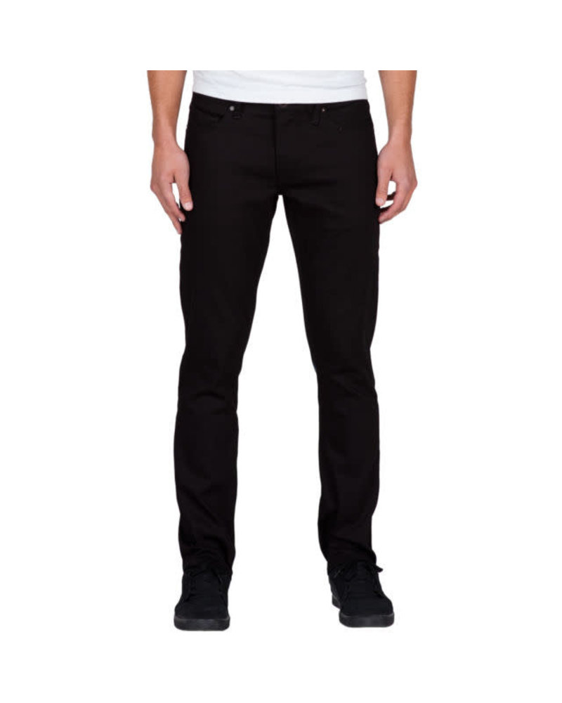 Volcom Volcom Vorta Slim Fit Denim Pants - Black on Black