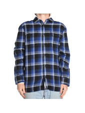 Vans x Anti Hero Wired Flannel Shirt - True Blue
